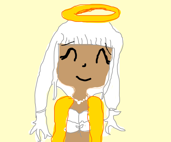 Angie's (from DRV3) head going to heaven
