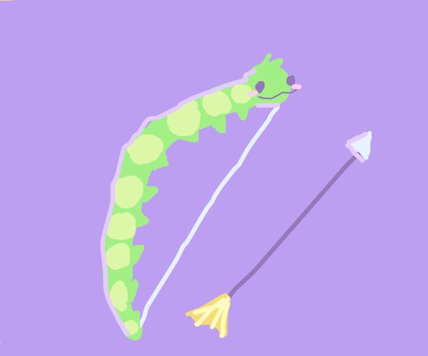 Caterpillar longbow