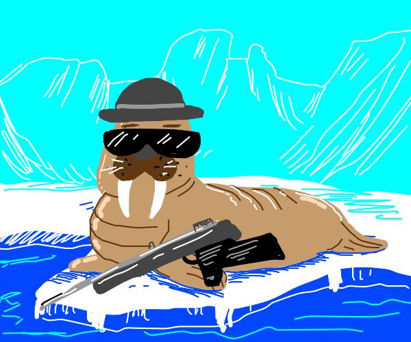 Gangster walrus