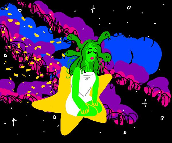 Medusa on a Star