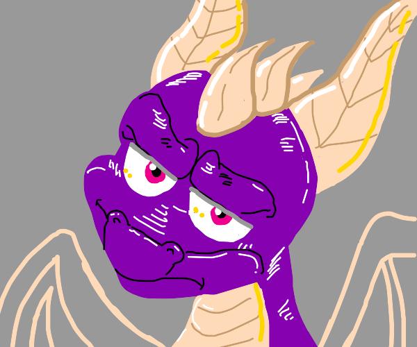 Annoyed Dragon