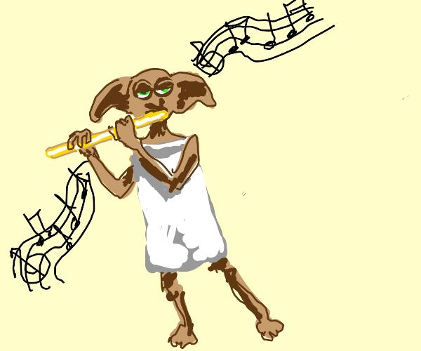 Dobbie plays jazz flute