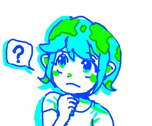 earth chan cunfused