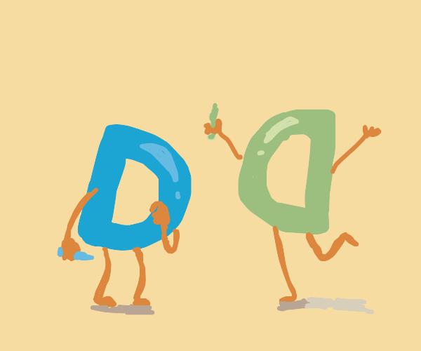 Drawception mascot finds its twin