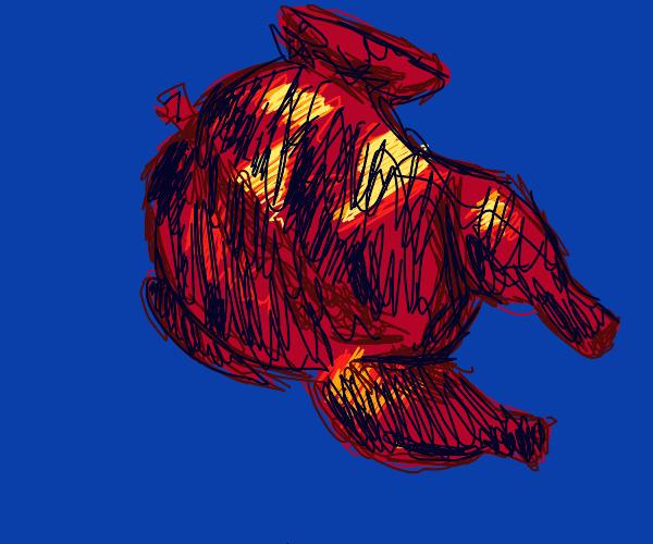 Burnt bird