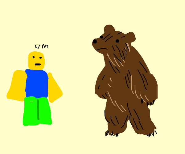 Bear Alpha Roblox Art Bear Alpha Roblox Drawception