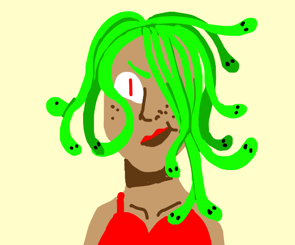Medusa from the Past