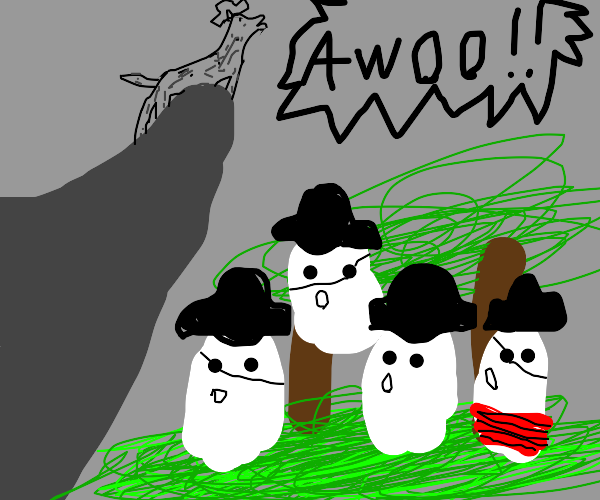 Howl with me my ghostly crew!