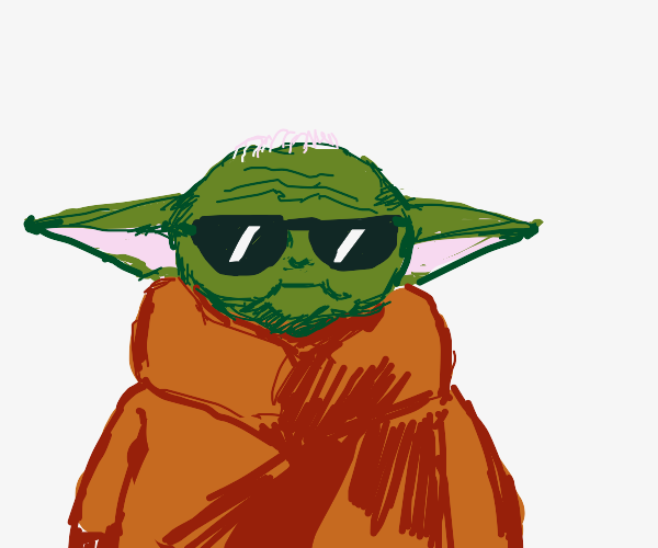 Baby Yoda is a BAD!SS PPL.