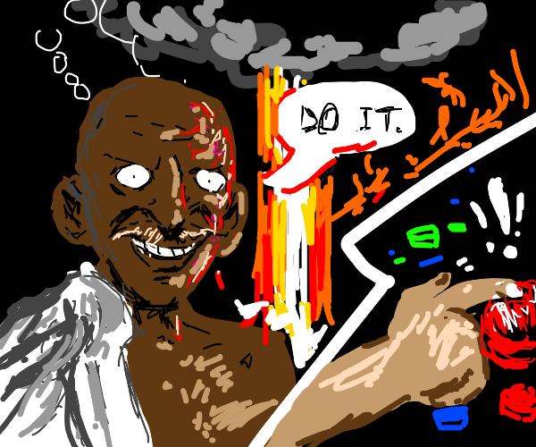 Gandhi launches nukes