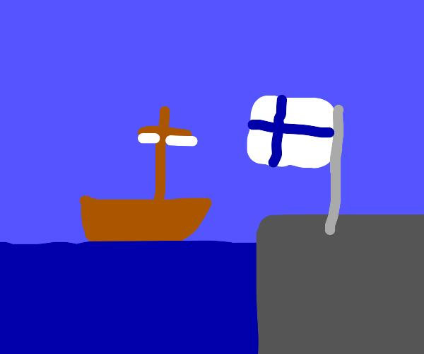 Finnish harbor