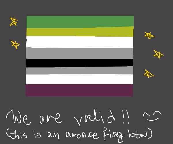 Aroace flag