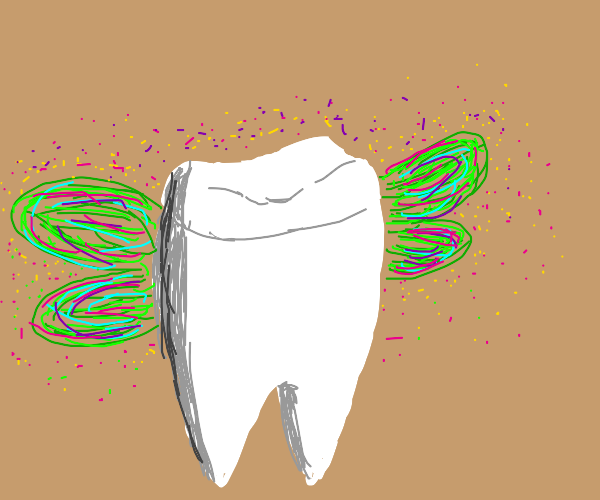 The Tooth Fairy's sidekick, Fairy Tooth!