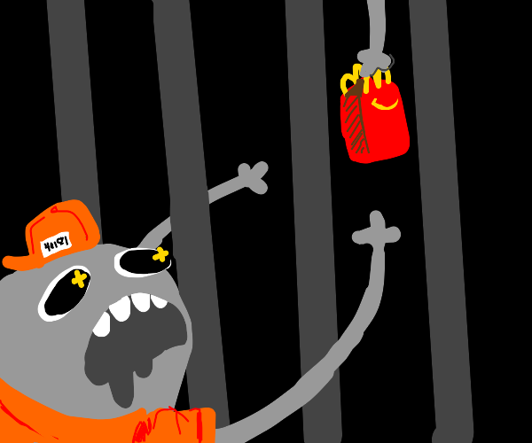 prisoner wants food