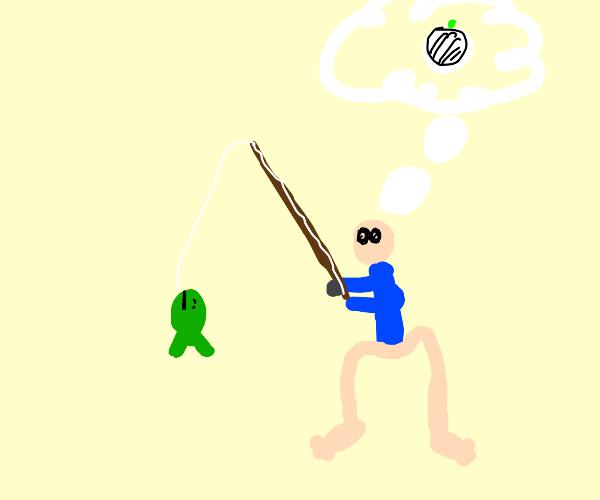 fishingman comes to onion realization