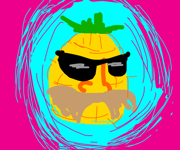 pineapple tries to be cool