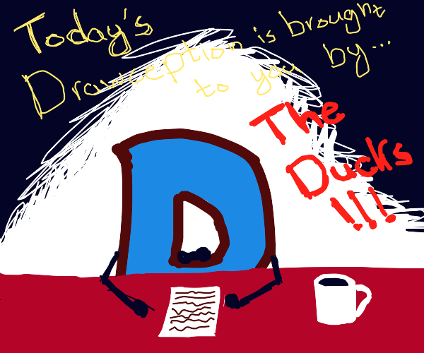 Today's Drawception is brought to you by the
