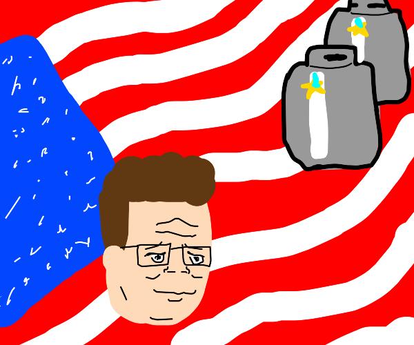 Hank Hill. America. Propane.