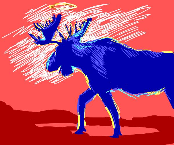 Angel moose