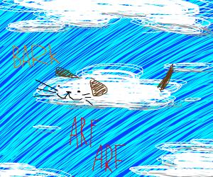 flying cloud dog