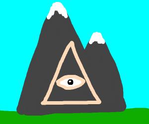 Illuminati mountain?