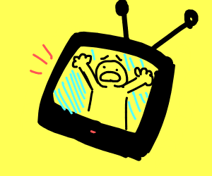 trapped in the tv