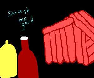 hotdog house wants a good smash