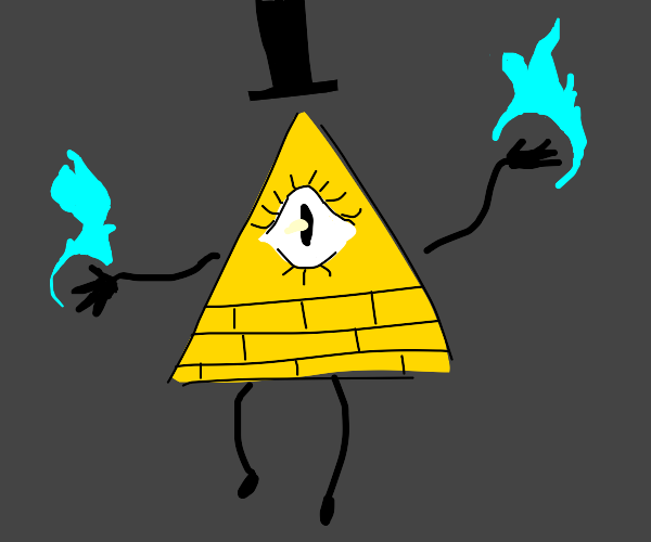 the bill cipher pyramid