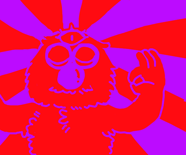 3 eyed evil elmo