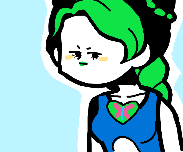 jolyne got a very tiny face