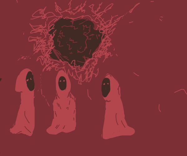 a weird dark matter cult