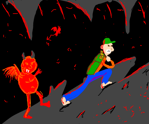 Hiking with demons in hell