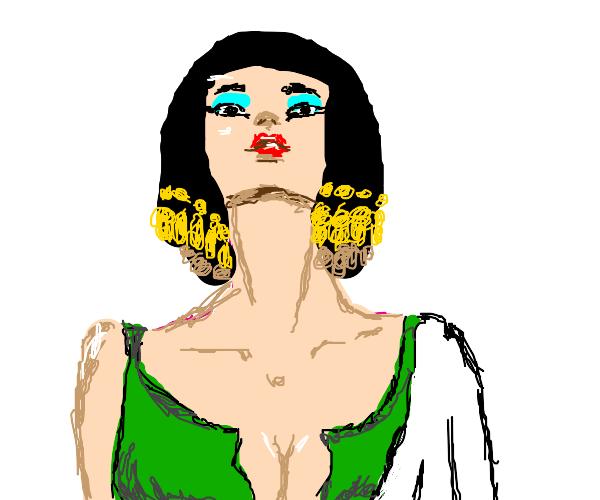 flirty Cleopatra