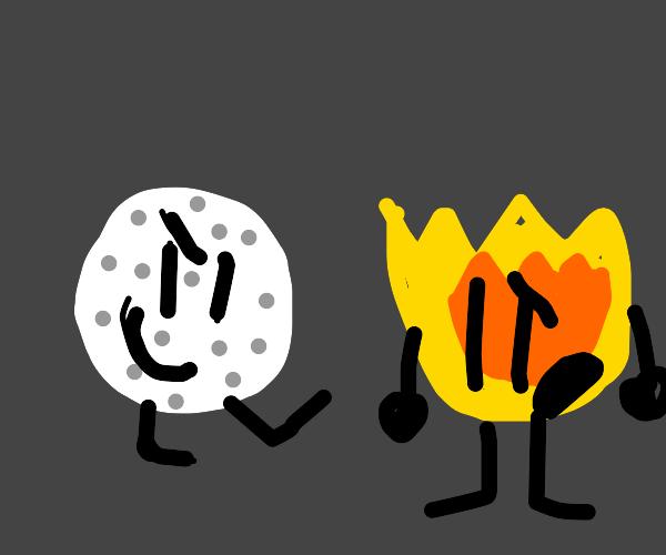 limbed golf ball bullies limbed flame