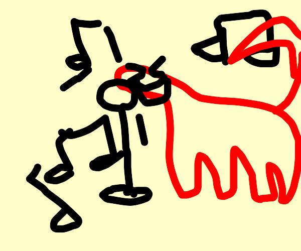 Singing dinosaur