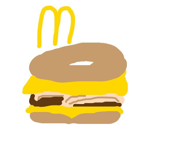 Mcdonalds bagel