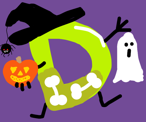Drawception Halloween!