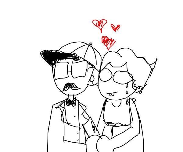Old married couple
