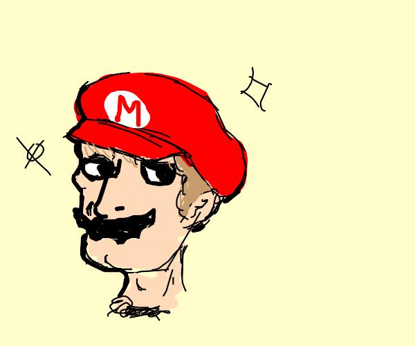 Mario but handsome squidward