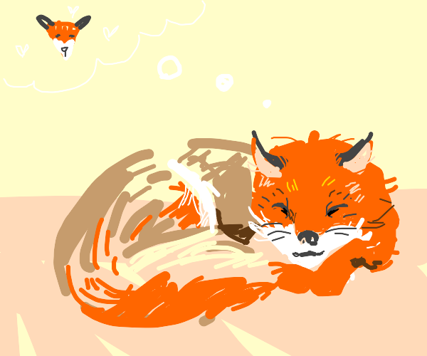 fox dreaming about itselfception