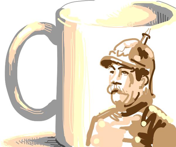 Otto Eduard Loepold, Prince of Bismarck's mug