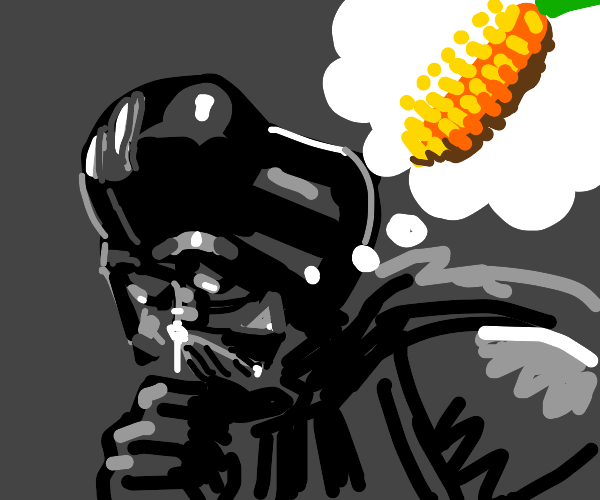darth vader thinks of corn