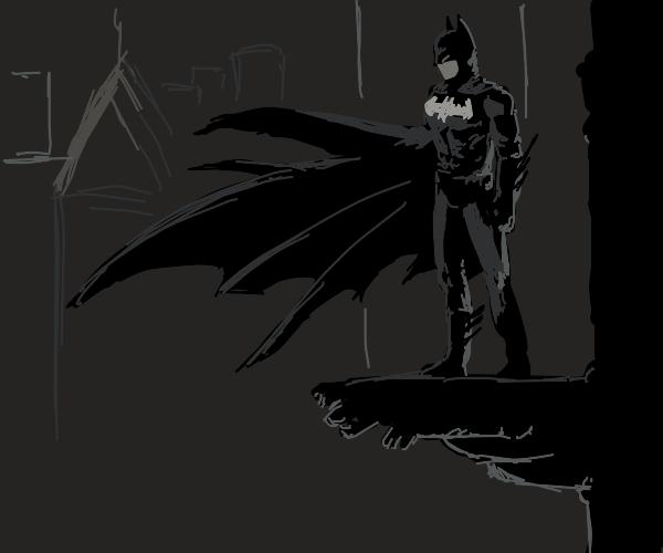 Moody batman