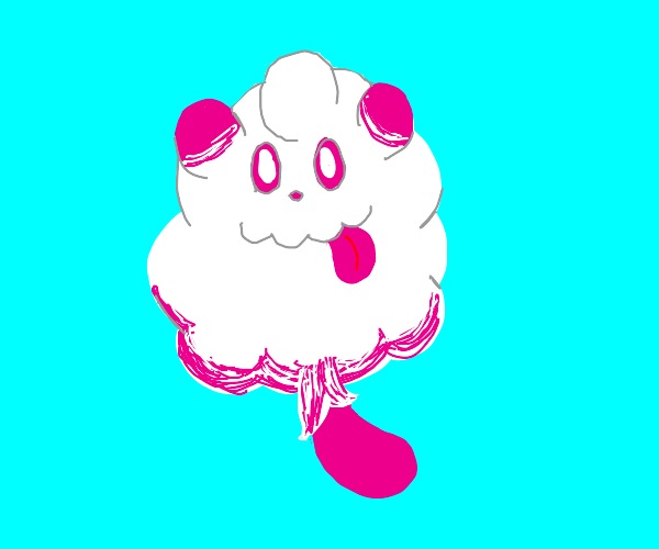 That Pokemon that looks like cotton candy