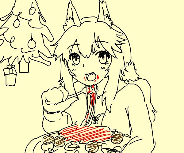 Spaghetti & Meatballs Christmas Dinner