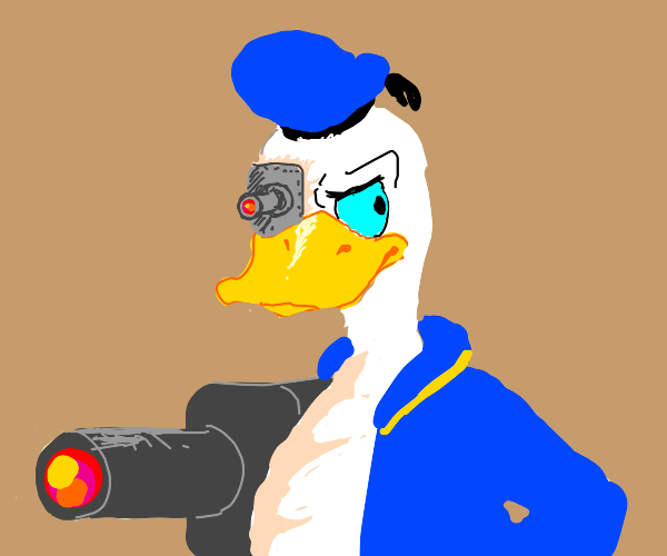 donald duck cyborg