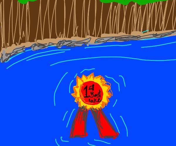 award winning lake
