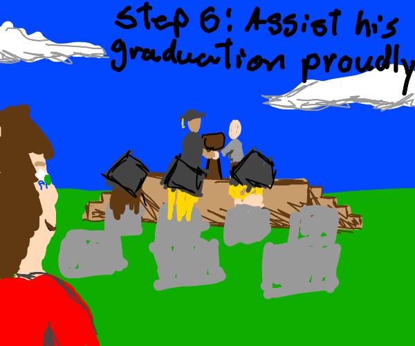 Step 5: Guide that boy to do better in school