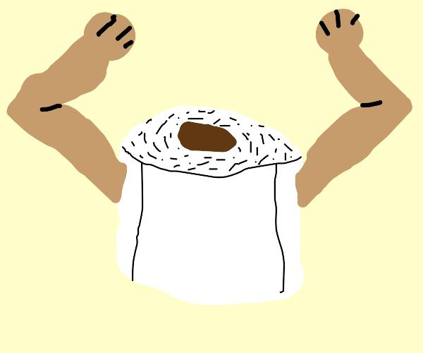 Toilet paper flex