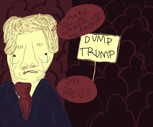 trump hates on trump haters